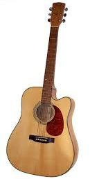 cutaway acoustic guitar